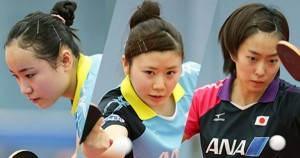 女子卓球リオ五輪代表メンバー3人全員を画像一覧でまとめて紹介【美人でかわいい美女アスリート写真】