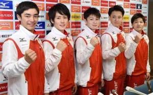 男子体操リオ五輪代表メンバー5人全員の画像一覧をまとめて紹介【イケメンや裸の肉体美や筋肉の写真】