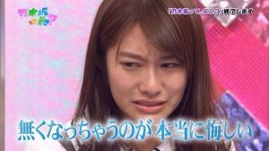 桜井玲香の泣き顔画像を集めてみた【乃木坂46キャップれいかの涙】【泣いている写真GIFまとめ】
