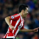 <> at St Mary's Stadium on October 28, 2015 in Southampton, England.