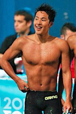 瀬戸大也 水泳 筋肉の画像