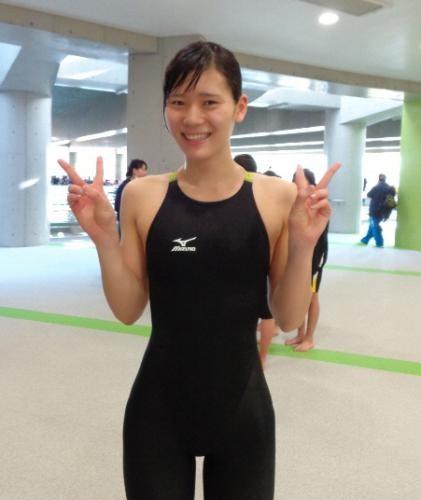 競泳】内田美希のかわいい画像を...