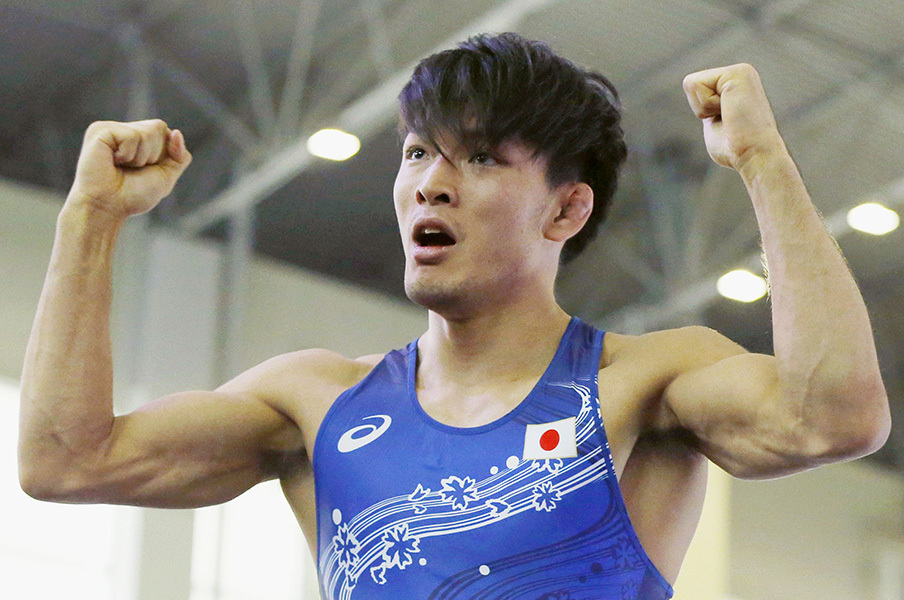 【リオ五輪男子レスリング】高谷惣亮がイケメン! …